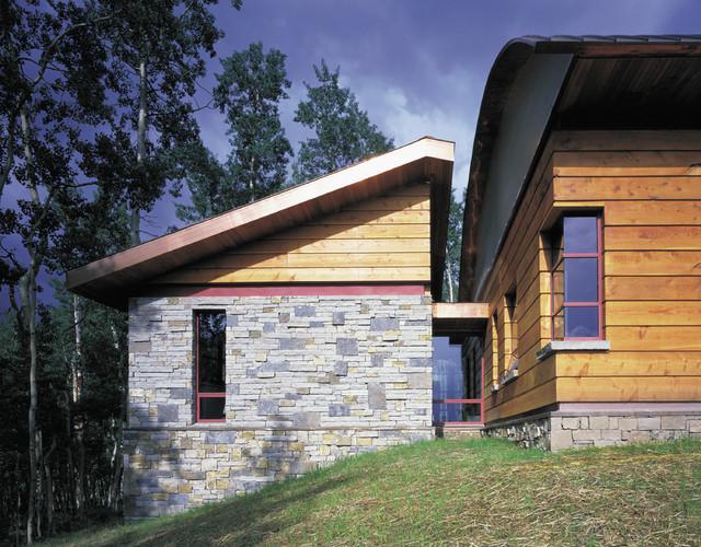 Elk Run Residence modern-exterior