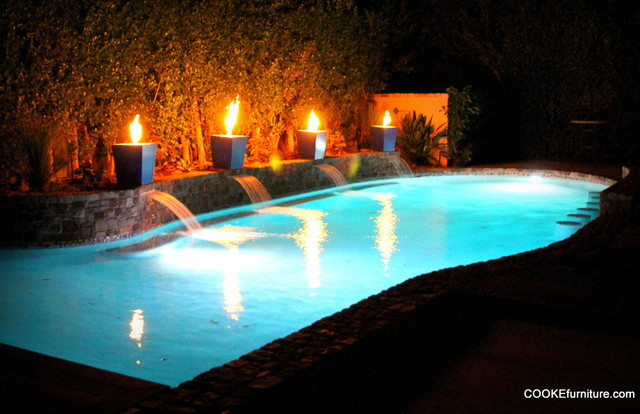 Custom Projects contemporary-pool