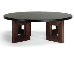 Circle Squared Coffee Table contemporary coffee tables