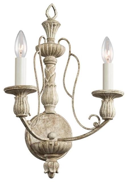 Kichler Lighting - 43263DAW - Hayman Bay - Two Light Wall Sconce traditional-wall-lighting