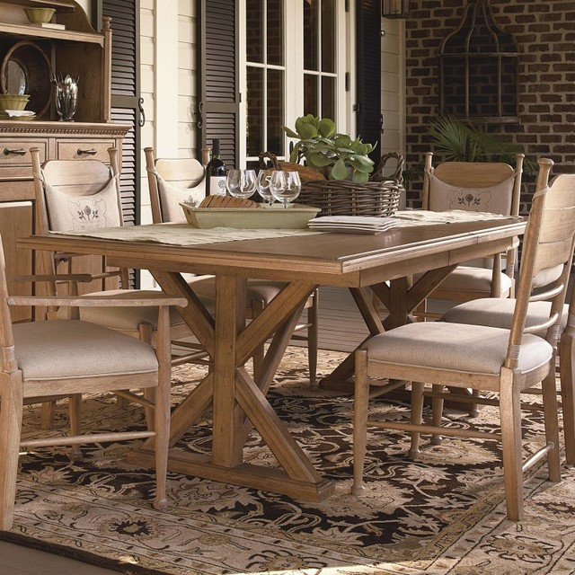 Paula Deen Down Home Family Style Dining Table Oatmeal UNIR1284 Contemp