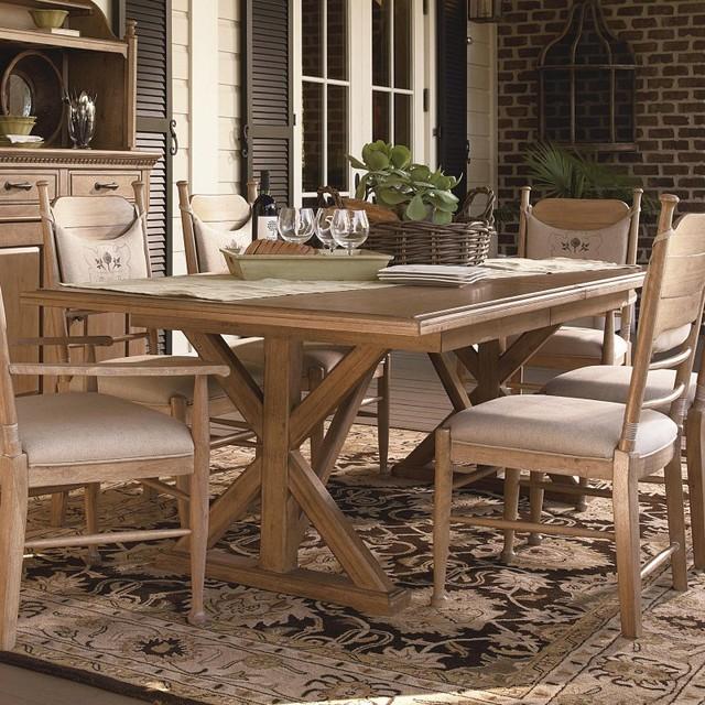Paula Deen Down Home Family Style Dining Table Oatmeal UNIR1284 Contemp