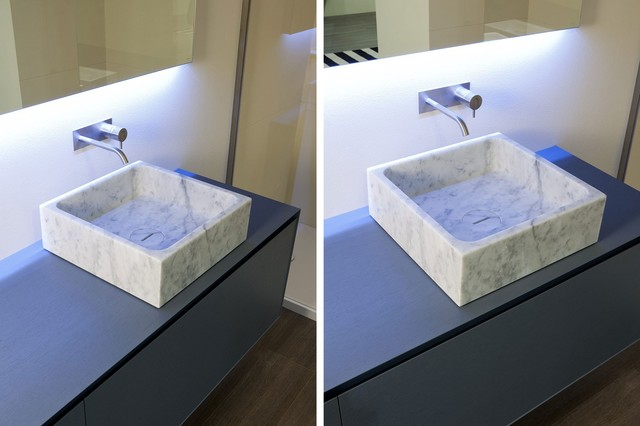 BLOKKO top mount sink - Modern - Bathroom Sinks - miami - by ...