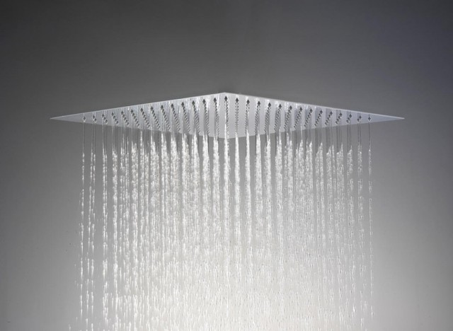 saneux slim shower head flush to ceiling contemporary