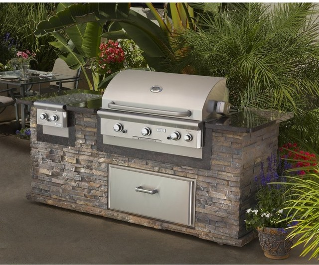 American Outdoor Grill 36 Inch Built-In Gas Grill Multicolor - 36NBT contemporary-outdoor-products