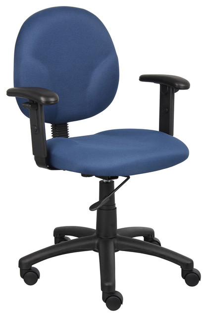 Task office chair with adjustable arms contemporary office chairs