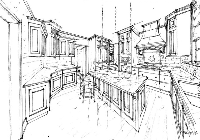 An overview rendering traditional-rendering