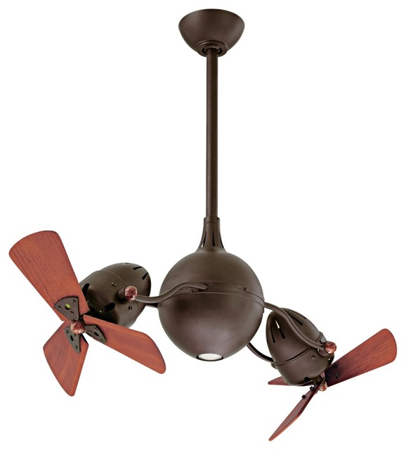 ... Rotational Ceiling Fan - Contemporary - Ceiling Fans - by Lamps Plus