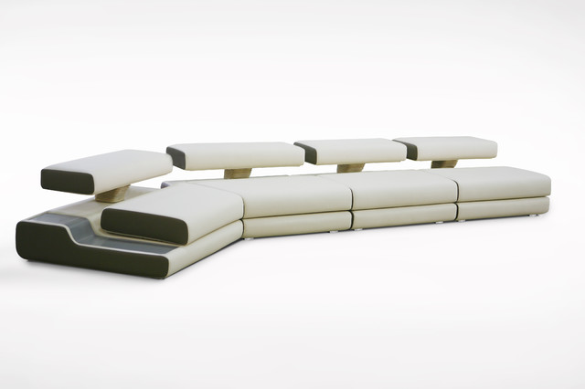 Lincoln modern sectional sofas