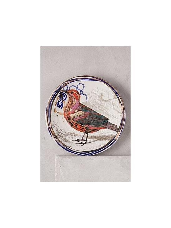 Ruan Hoffmann - Dreambirds Dessert Plate - Stoneware. Hand wash. Imported.