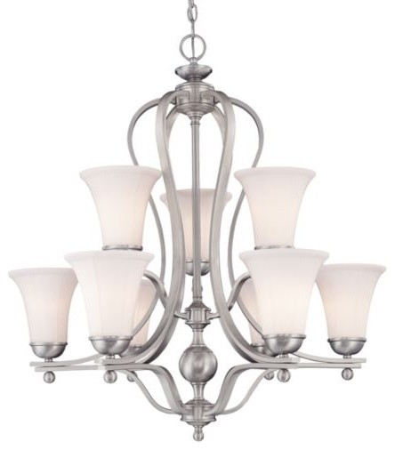 Vanguard Two-Tier Chandelier contemporary-chandeliers
