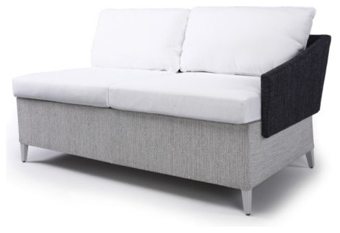 Steve and James Vicky Right Modular Piece contemporary-outdoor-sofas