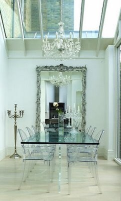 Domino Deco Files eclectic-dining-room