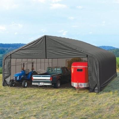 ShelterLogic 30 x 36 x 16 Peak Frame Garage Shelter modern-picture-frames
