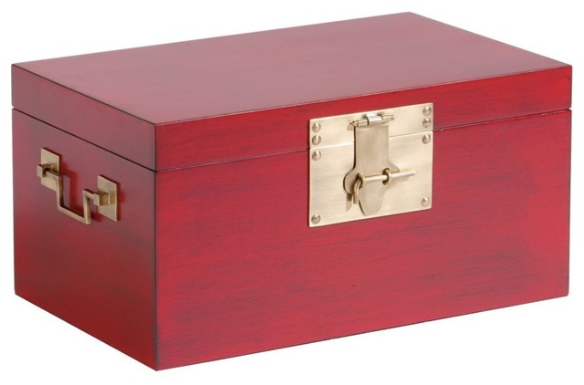 Decorative Boxes For Closets : Canton decorative box traditional storage bins and