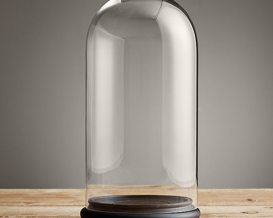 Petite Glass Cloche, Extra Large -