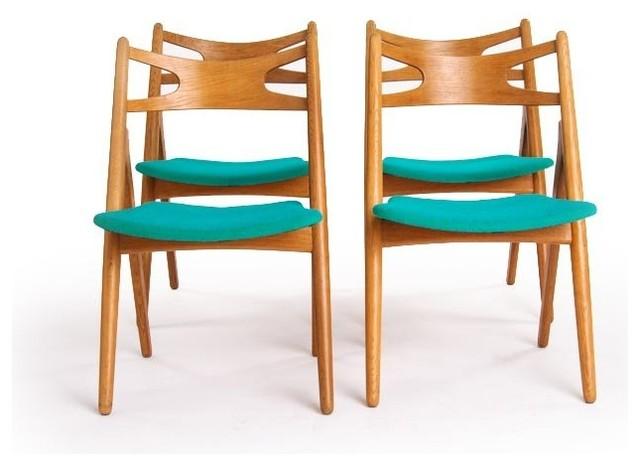 Vintage danish modern dining chairs