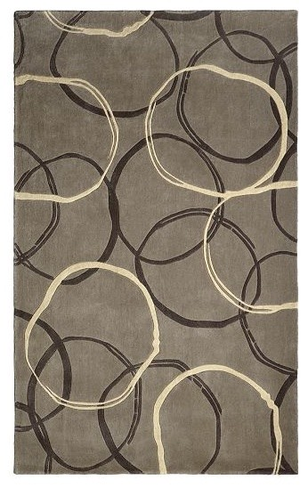 Circles Rug Modern Rugs By West Elm