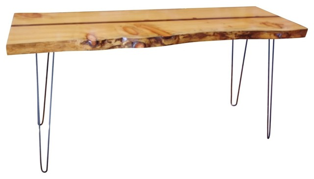 Live Edge Console Table Rustic Tables By