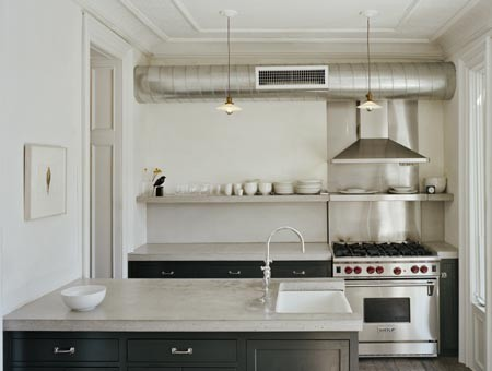 Levenson McDavid Architects eclectic kitchen