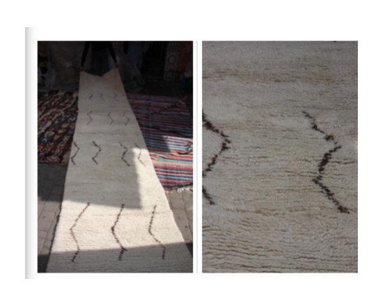 carpets from morocco - nice runner 90 cm x 3.5 meter