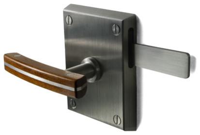 Moda Stainless Steel Contemporary Gate Latch - Contemporary - Home Improvement - san diego - by ...