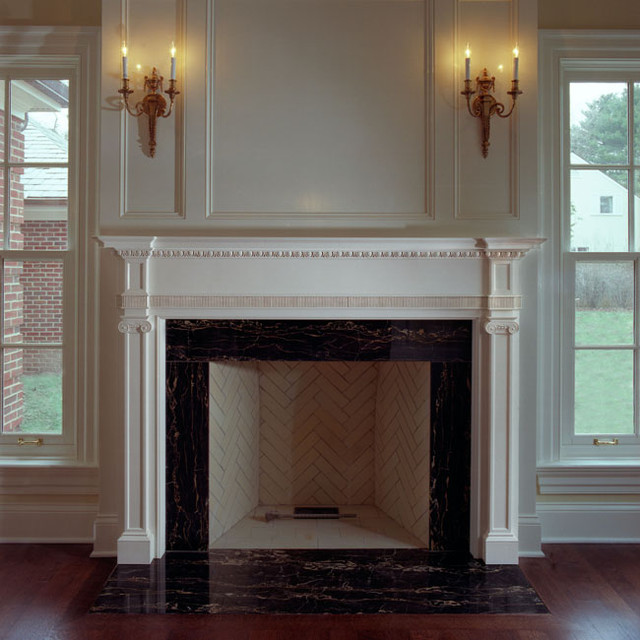 Fireplace Surrounds - traditional - fireplace mantels - chicago ...
