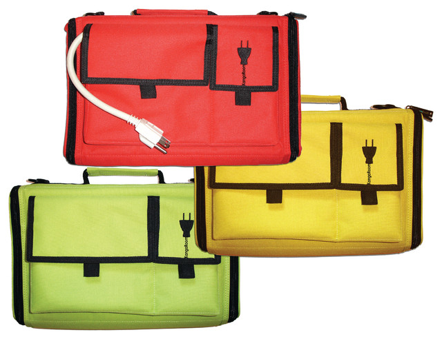 Travel Cord Organizer & Charging Case contemporary-cable-management