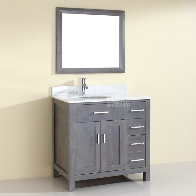 Rustic Bathroom Vanities Traditional