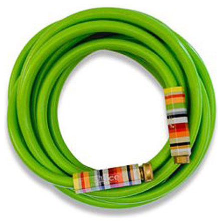 Lime Green Garden Hose with Striped Handles - Eclectic ...