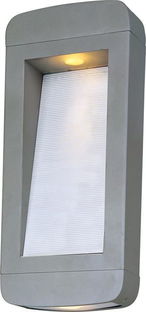 Maxim Lighting 18254PL Optic 2-Light Pocket Sconce transitional-outdoor-lighting