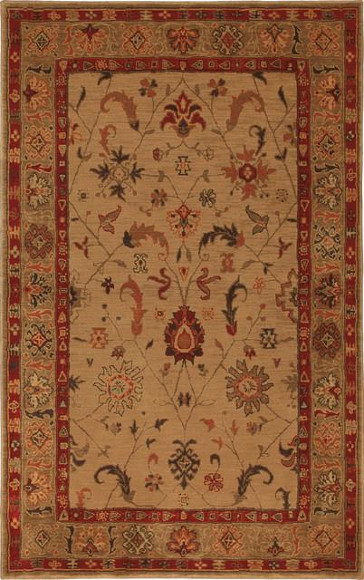 "Karastan Knightsen 74600-12101 2'11"" x 4'8"" Southwood Bone Rug contemporary-rugs"