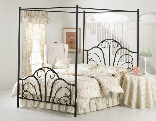 Dover Canopy Bed Multicolor - HL1527 contemporary-beds