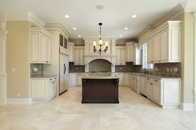 marble floor kitchen