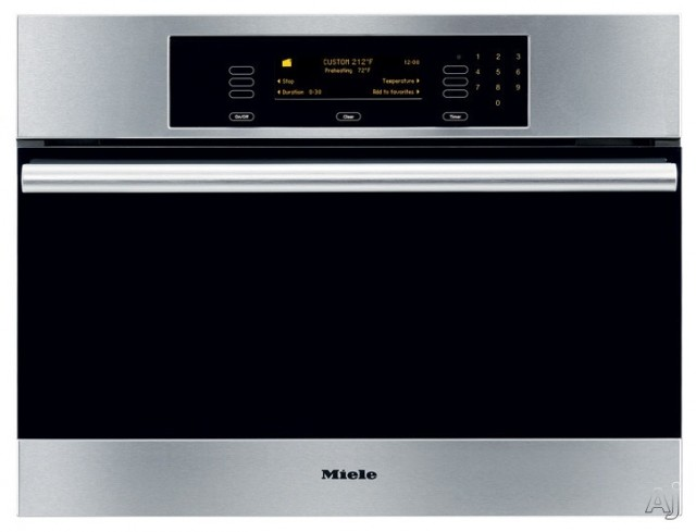 "Miele 24"" Steam Oven with Convection Steam Cooking contemporary-ovens"