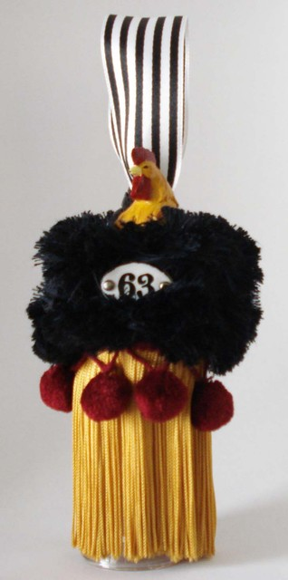 Rooster Tassels by Susan Dumas home-decor
