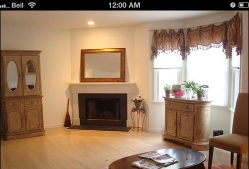 Help Living Room With Corner Fireplace