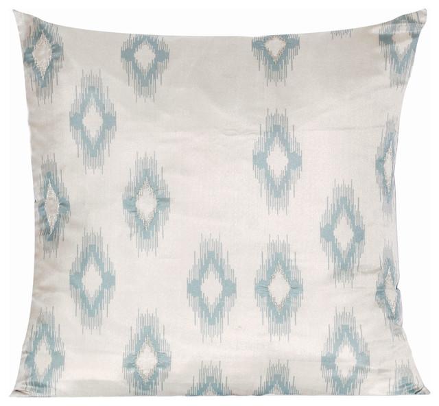 Bukhara Ikat Pillow Cover eclectic-decorative-pillows