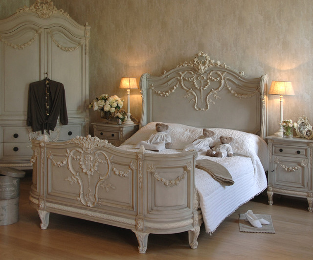 Bonaparte french bed victorian beds other metro by for Classic french beds