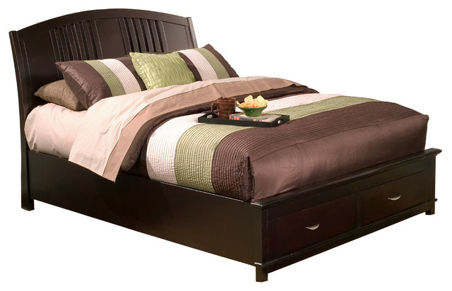 Cal king platform bed with drawers attractive design inspiration picture - Cal king bed with drawers ...