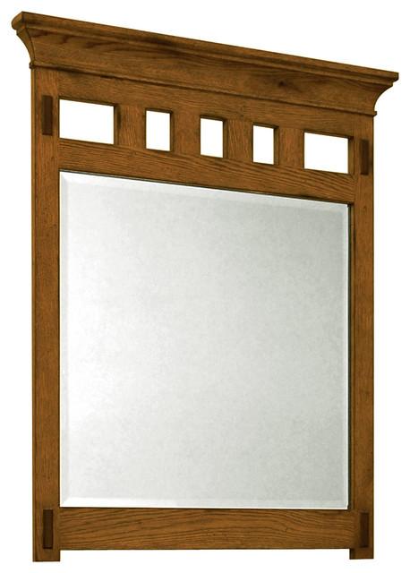 36 american craftsman single vanity traditional - American classic bathroom vanity ...