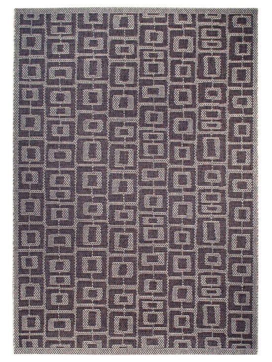 Munjoy, Indoor/Outdoor Rug - An organic geometric and classic angela adams design. angela adams outdoor rugs are UV protected and are resistant to staining and mildew. For use both indoors and outdoors.
