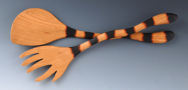 Cat Tail® Salad Server contemporary-specialty-kitchen-tools
