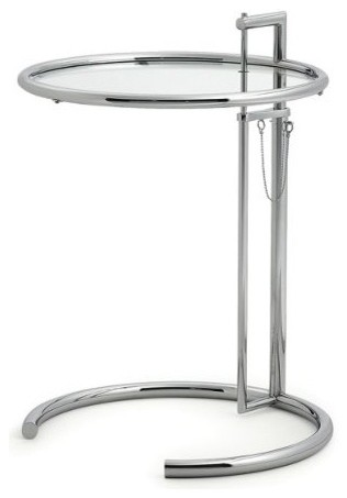 Adjustable Table E1027 by Eileen Gray modern-side-tables-and-end-tables