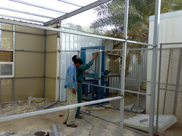 Aces Arab Laboratory Extension traditional-prefab-studios