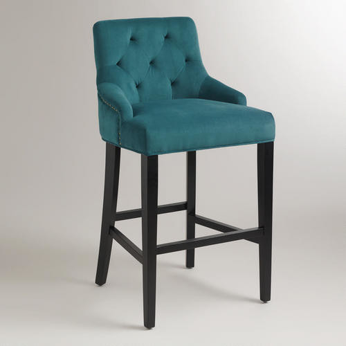 Pacific Blue Lydia Barstool - Bar Stools And Counter Stools - by Cost Plus World Market