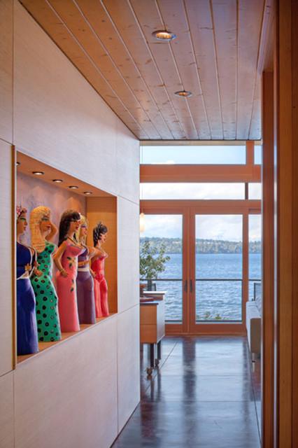 Perilstein Residence - Bainbridge Island Architect Coates Design modern-hall
