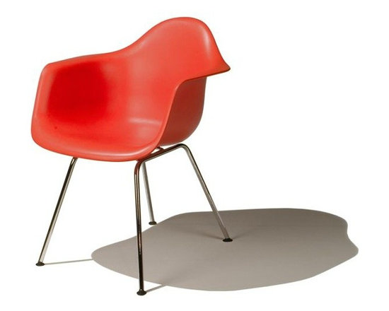 Eames Molded Plastic Armchair - DAX -