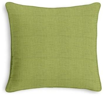 Light Green Decorative Pillow : Light Green Slubby Linen Custom Throw Pillow - Contemporary - Decorative Pillows - by Loom Decor