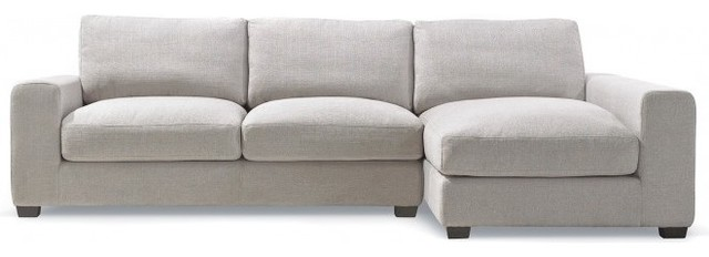 Kelley Fabric Sectional Sofa contemporary-sectional-sofas